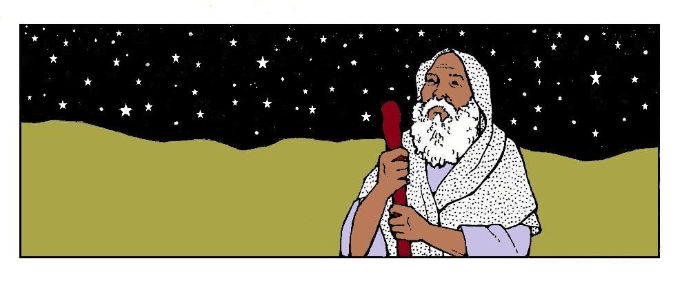 Icono de la Historia de Abraham (volumen  de 'La guía completa de Godly Play')